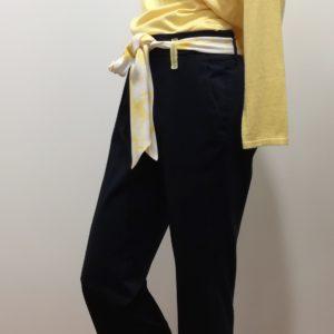 Pantacourt Droit avec sa ceinture