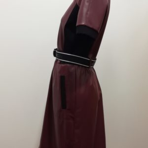 Robe imitation cuir