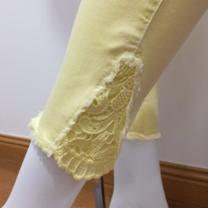 Pantalon Raffaello Rossi jaune