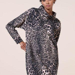 Robe Airfield imprimé léopard