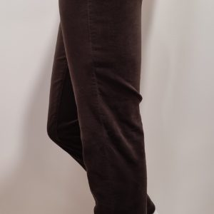 Pantalon en velours marron