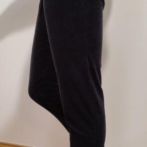 Pantalon en velours gris